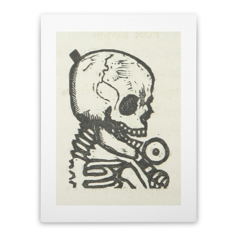 Skeleton Home Stretched Canvas by RNF's Artist Shop