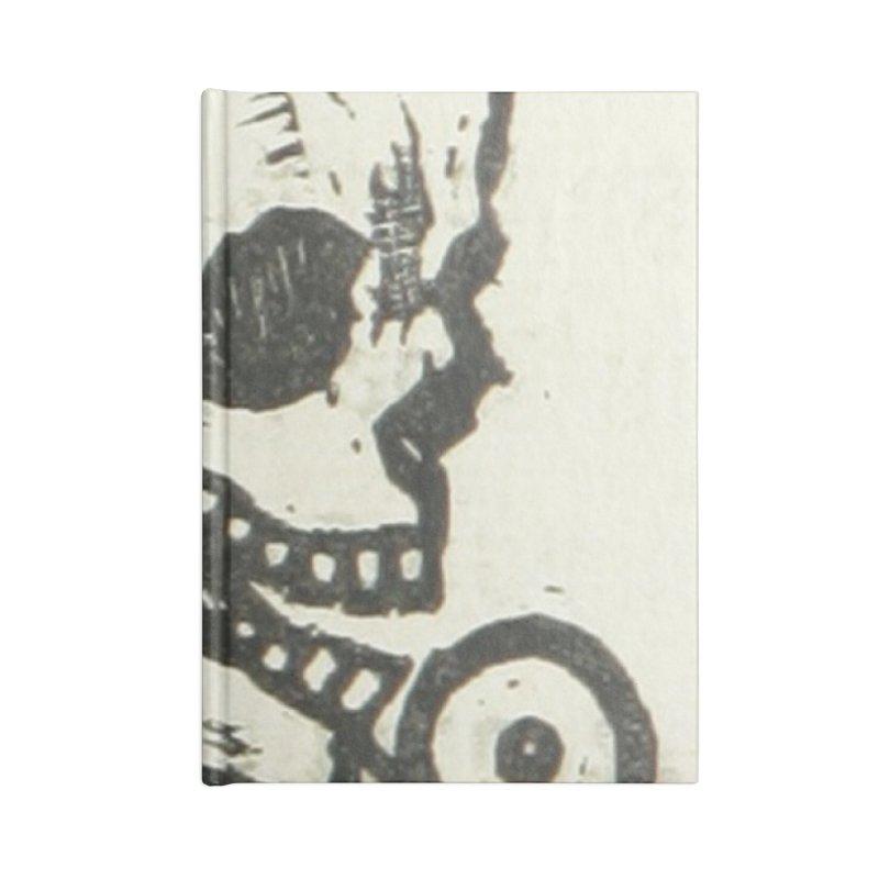 Skeleton Accessories Blank Journal Notebook by RNF's Artist Shop