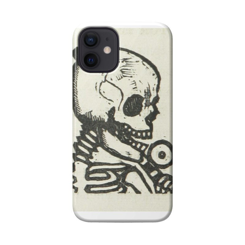 Skeleton Accessories Phone Case by RNF's Artist Shop