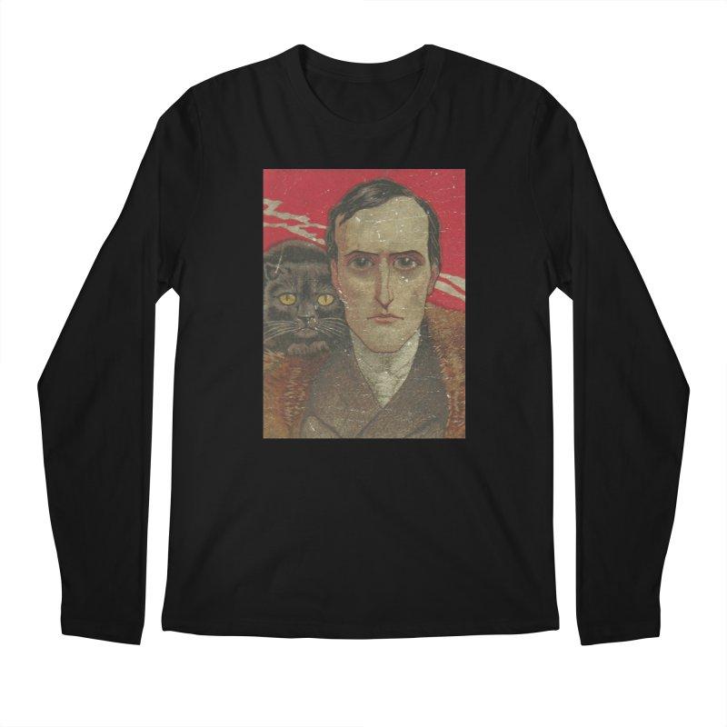Face Men's Regular Longsleeve T-Shirt by RNF's Artist Shop