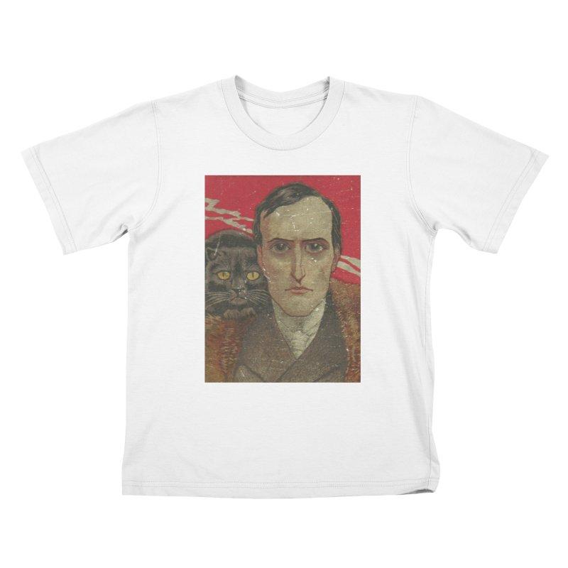 Face Kids T-Shirt by RNF's Artist Shop