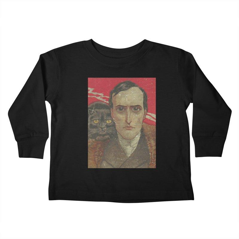 Face Kids Toddler Longsleeve T-Shirt by RNF's Artist Shop
