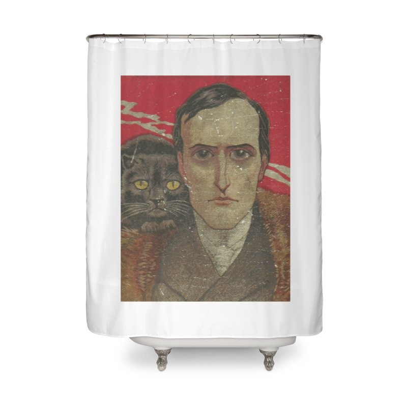 Face Home Shower Curtain by RNF's Artist Shop