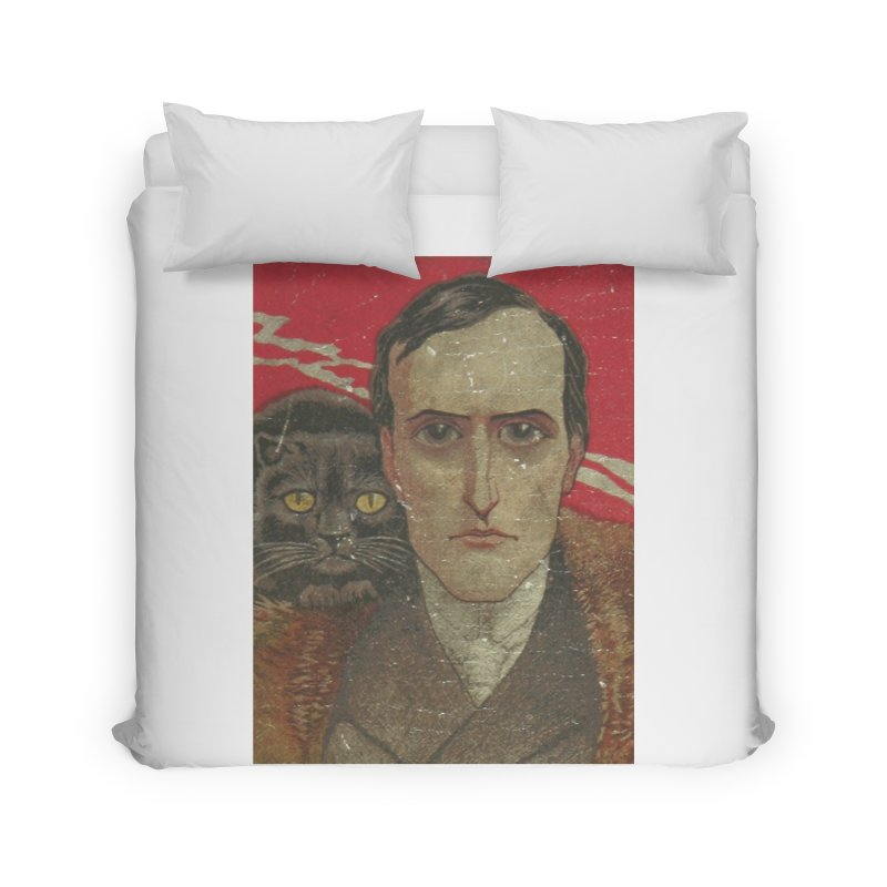 Face Home Duvet by RNF's Artist Shop