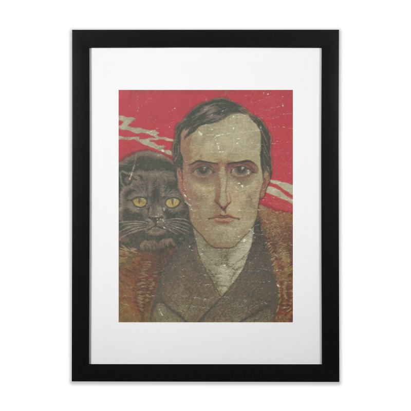 Face Home Framed Fine Art Print by RNF's Artist Shop