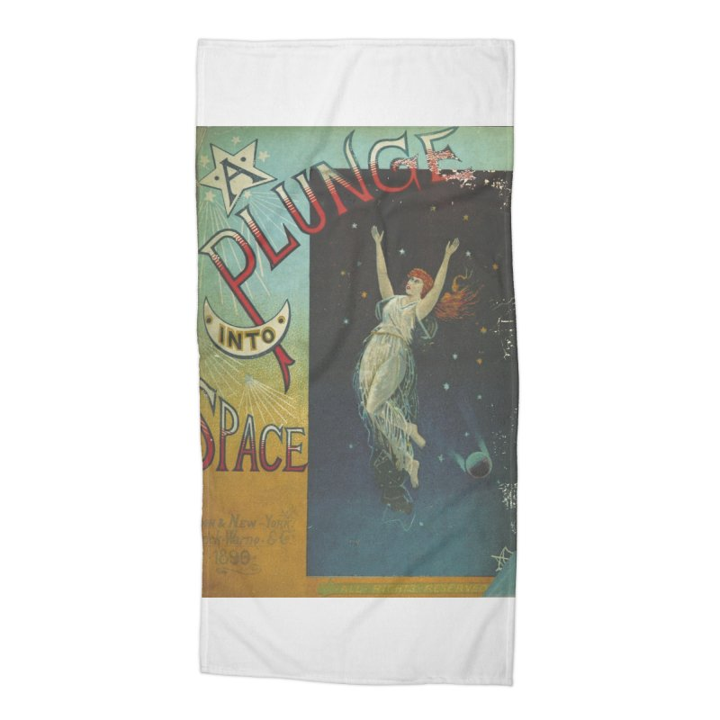 Space Plunge Accessories Beach Towel by RNF's Artist Shop