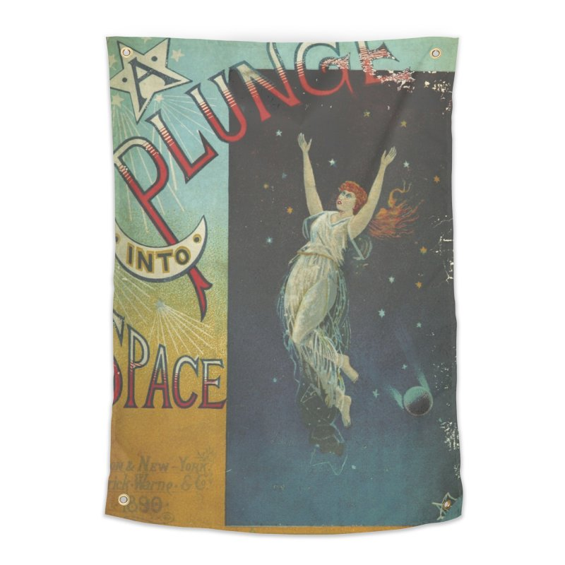 Space Plunge Home Tapestry by RNF's Artist Shop