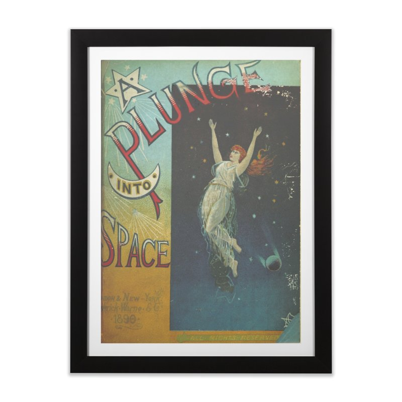 Space Plunge Home Framed Fine Art Print by RNF's Artist Shop