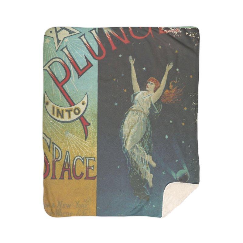 Space Plunge Home Sherpa Blanket Blanket by RNF's Artist Shop