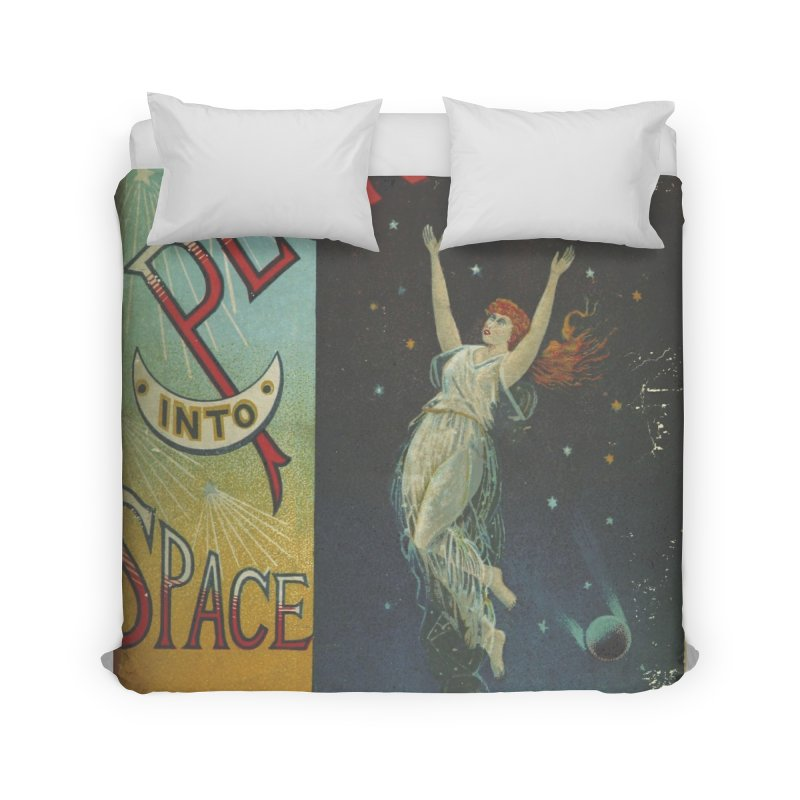 Space Plunge Home Duvet by RNF's Artist Shop