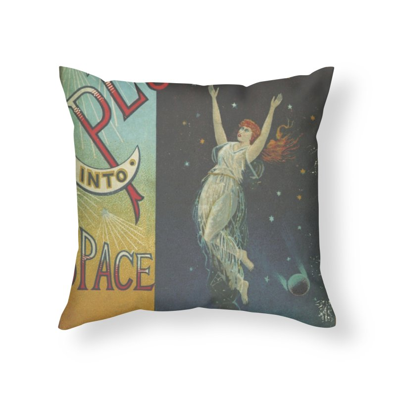 Space Plunge Home Throw Pillow by RNF's Artist Shop