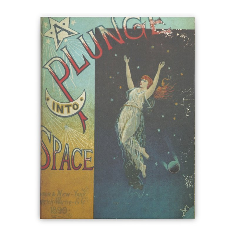 Space Plunge Home Stretched Canvas by RNF's Artist Shop
