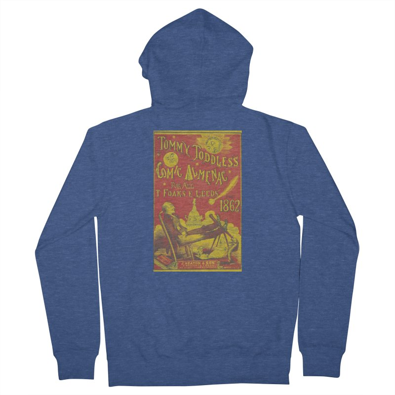Comic Almenac Men's French Terry Zip-Up Hoody by RNF's Artist Shop