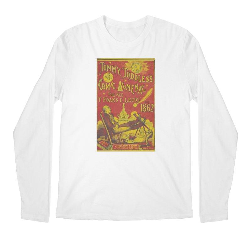 Comic Almenac Men's Regular Longsleeve T-Shirt by RNF's Artist Shop