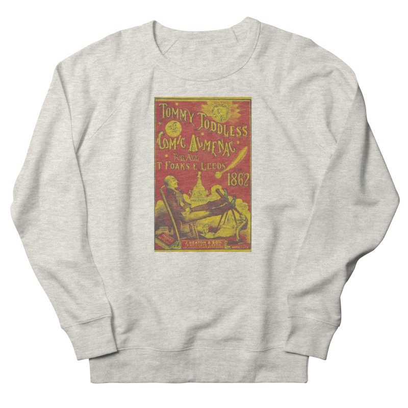 Comic Almenac Men's French Terry Sweatshirt by RNF's Artist Shop