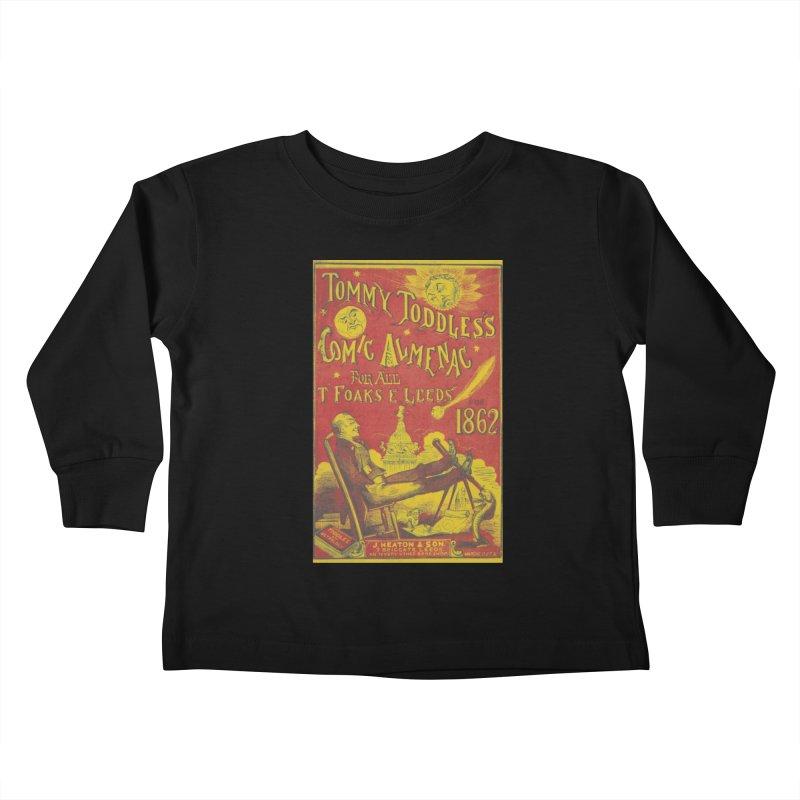 Comic Almenac Kids Toddler Longsleeve T-Shirt by RNF's Artist Shop