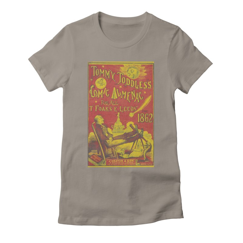 Comic Almenac Women's Fitted T-Shirt by RNF's Artist Shop
