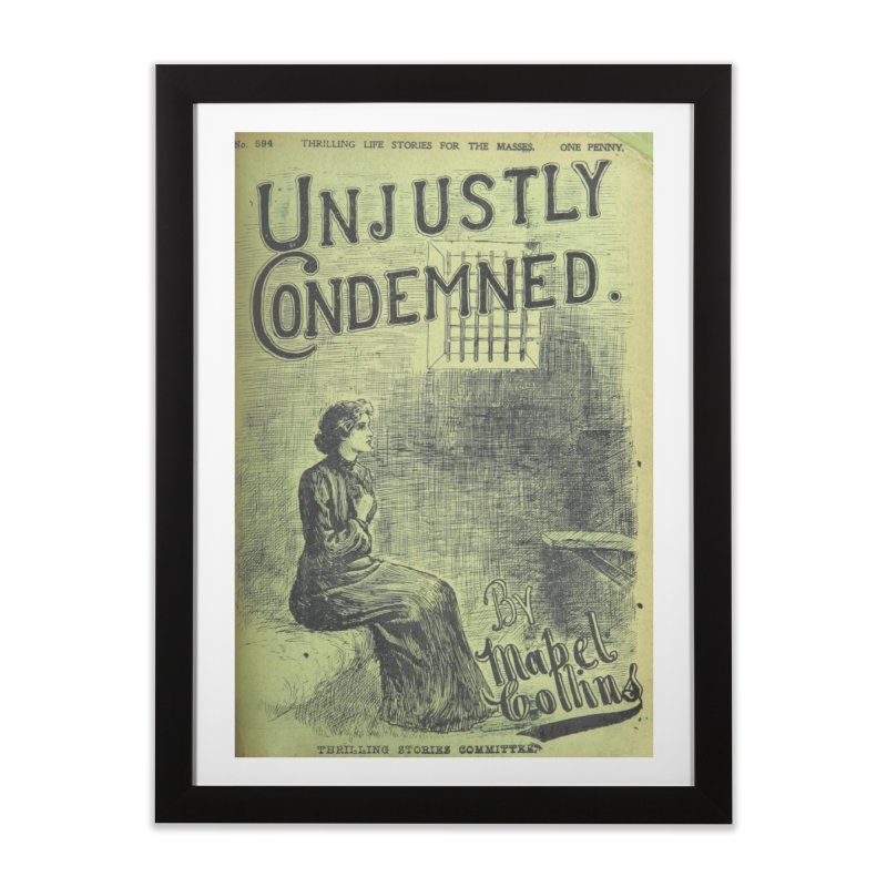 Condemed Home Framed Fine Art Print by RNF's Artist Shop