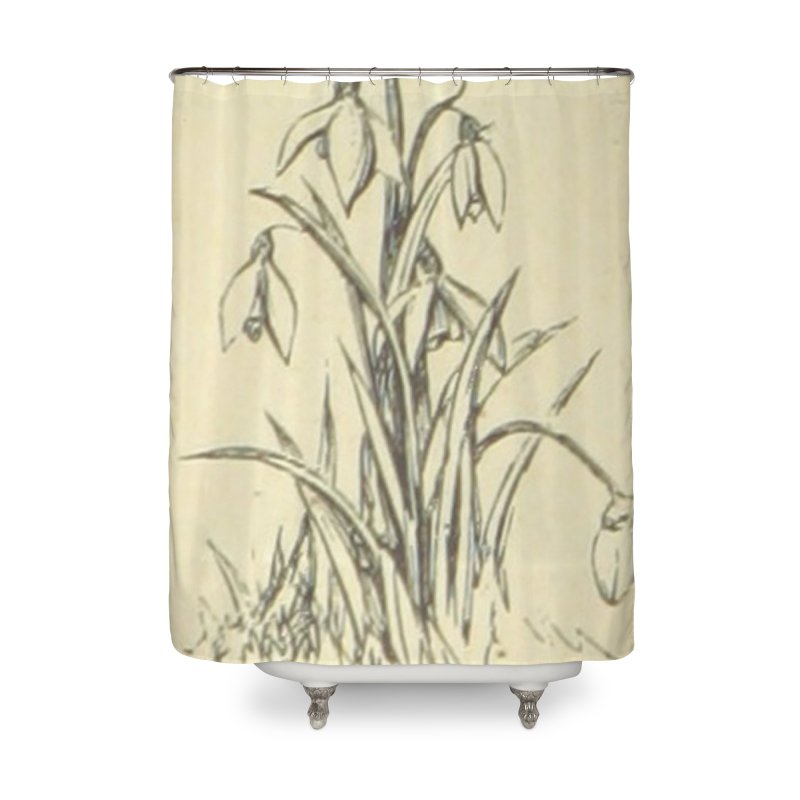 Floral Home Shower Curtain by RNF's Artist Shop