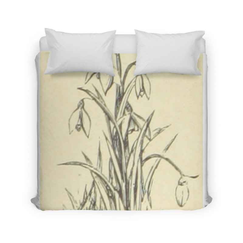 Floral Home Duvet by RNF's Artist Shop