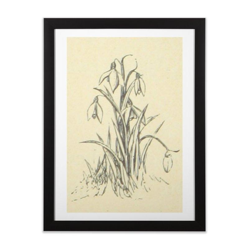 Floral Home Framed Fine Art Print by RNF's Artist Shop