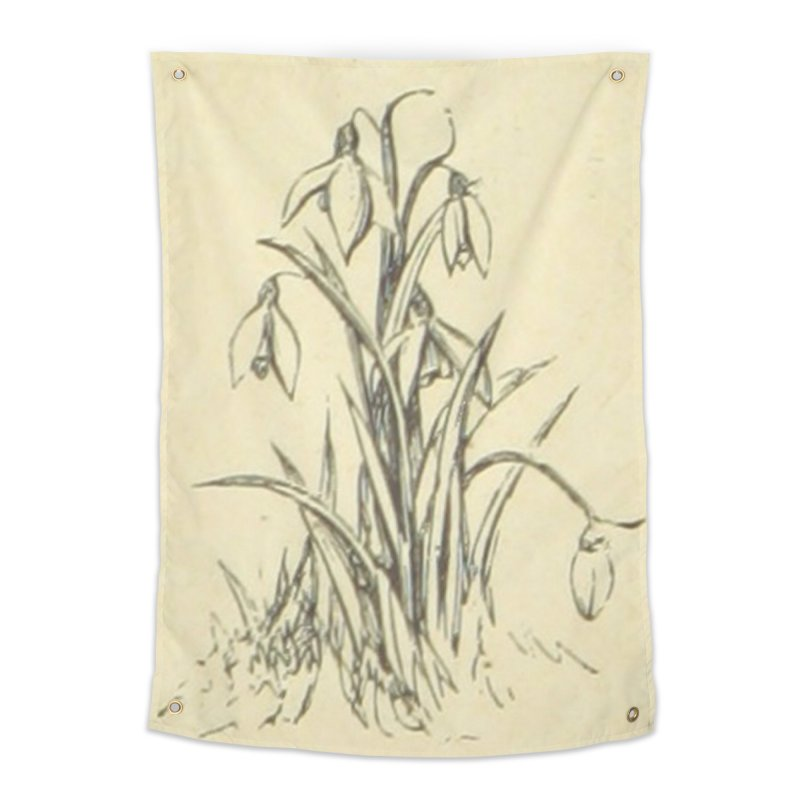 Floral Home Tapestry by RNF's Artist Shop
