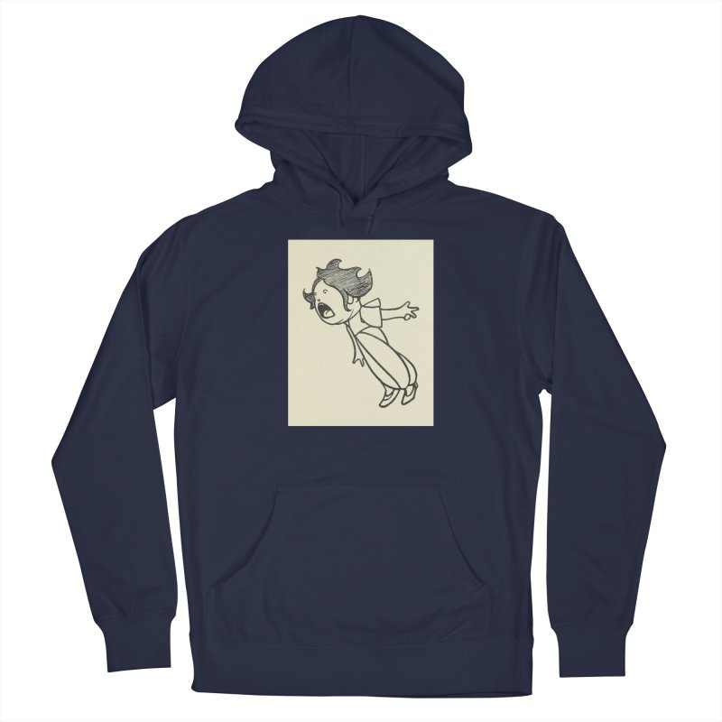 Yelling Men's Pullover Hoody by RNF's Artist Shop