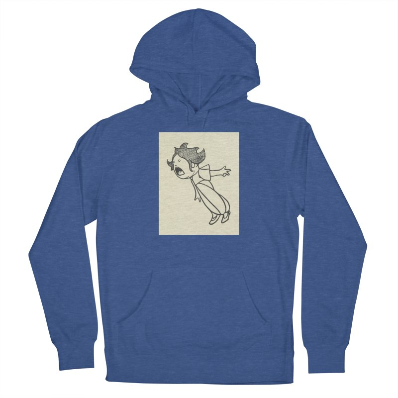 Yelling Women's French Terry Pullover Hoody by RNF's Artist Shop