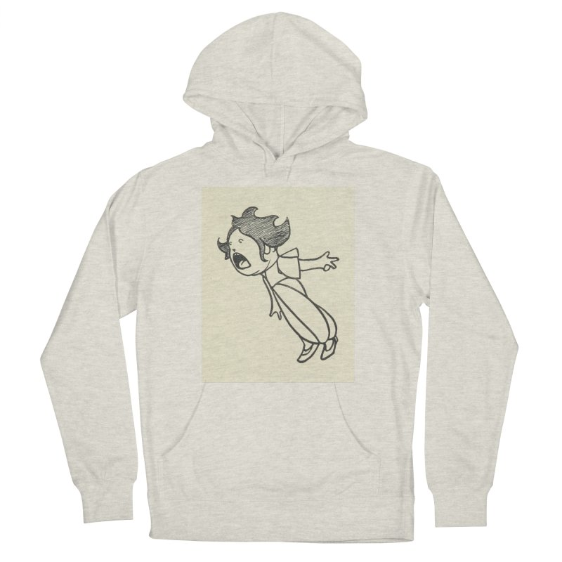 Yelling Men's French Terry Pullover Hoody by RNF's Artist Shop