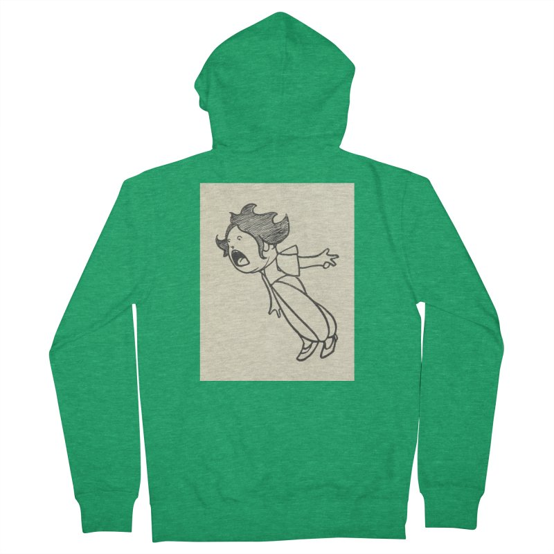 Yelling Women's Zip-Up Hoody by RNF's Artist Shop