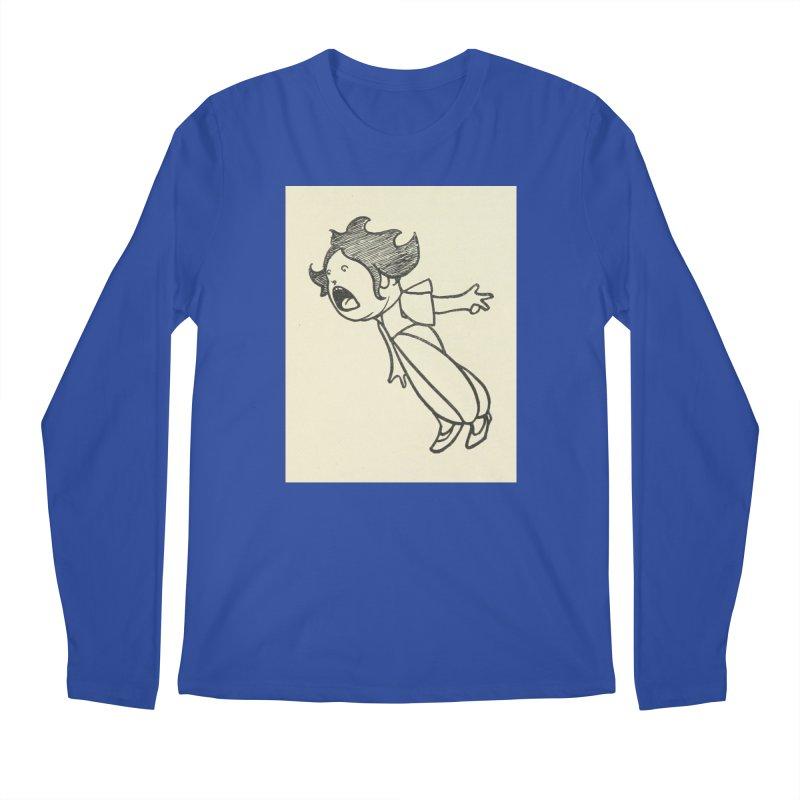 Yelling Men's Regular Longsleeve T-Shirt by RNF's Artist Shop
