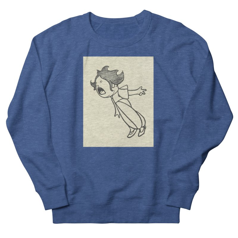 Yelling Men's French Terry Sweatshirt by RNF's Artist Shop