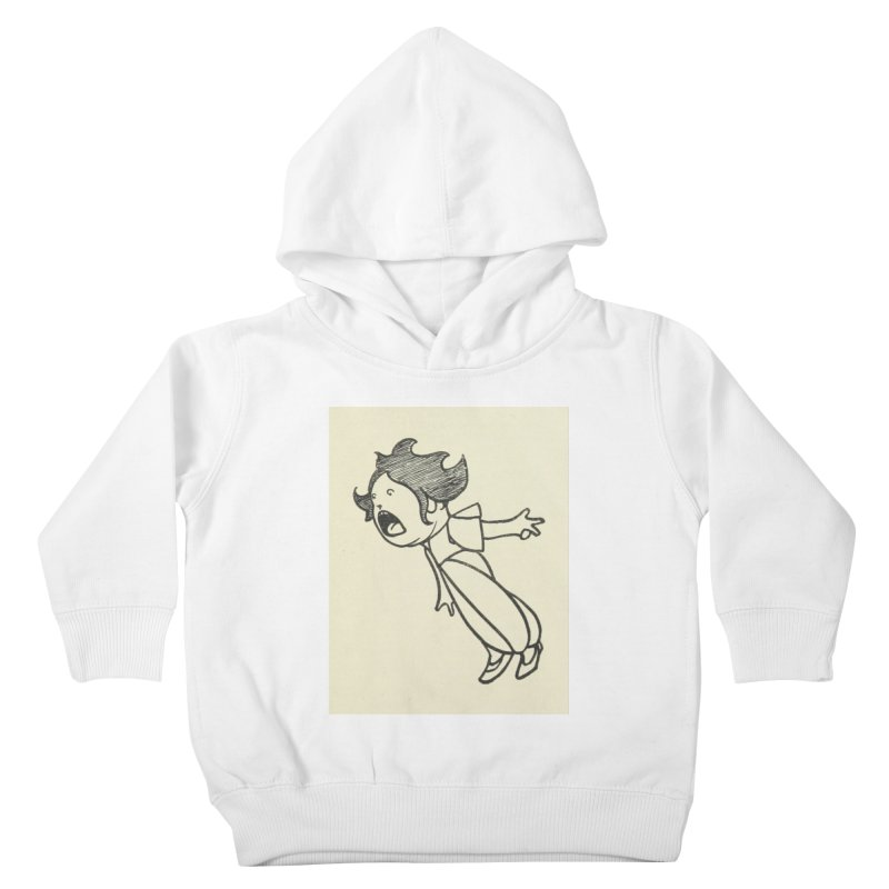 Yelling Kids Toddler Pullover Hoody by RNF's Artist Shop