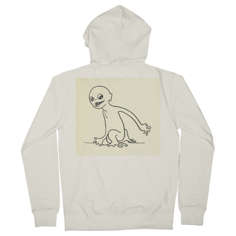 Creature Women's French Terry Zip-Up Hoody by RNF's Artist Shop