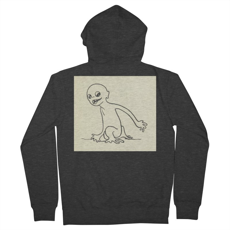 Creature Men's French Terry Zip-Up Hoody by RNF's Artist Shop