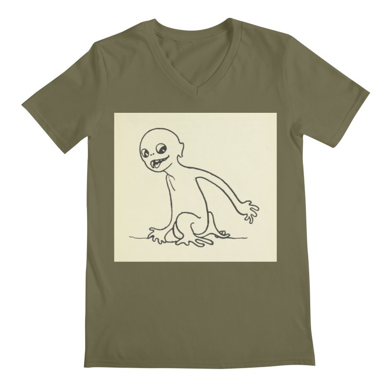 Creature Men's V-Neck by RNF's Artist Shop