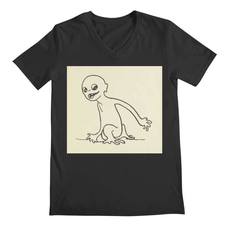 Creature Men's Regular V-Neck by RNF's Artist Shop