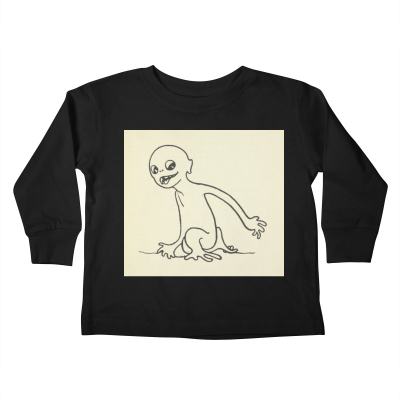Creature Kids Toddler Longsleeve T-Shirt by RNF's Artist Shop