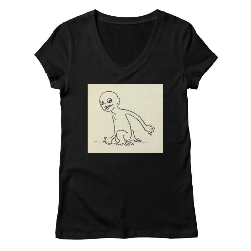 Creature Women's V-Neck by RNF's Artist Shop