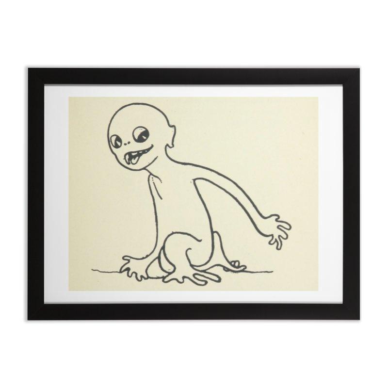 Creature Home Framed Fine Art Print by RNF's Artist Shop