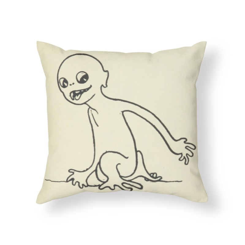 Creature Home Throw Pillow by RNF's Artist Shop