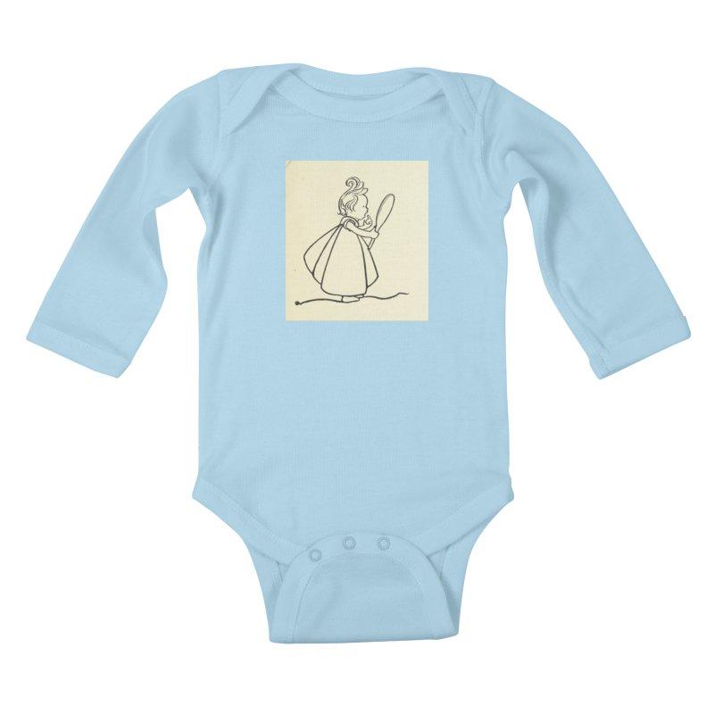 Mirror Kids Baby Longsleeve Bodysuit by RNF's Artist Shop
