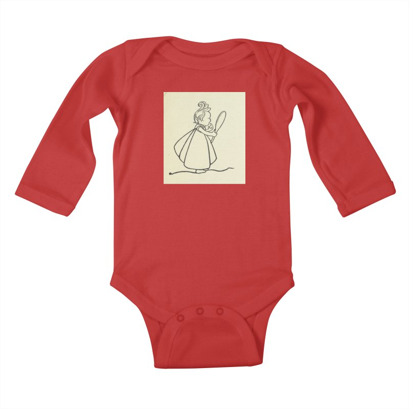 Mirror Kids Baby Longsleeve Bodysuit by RNF's Artist Shop