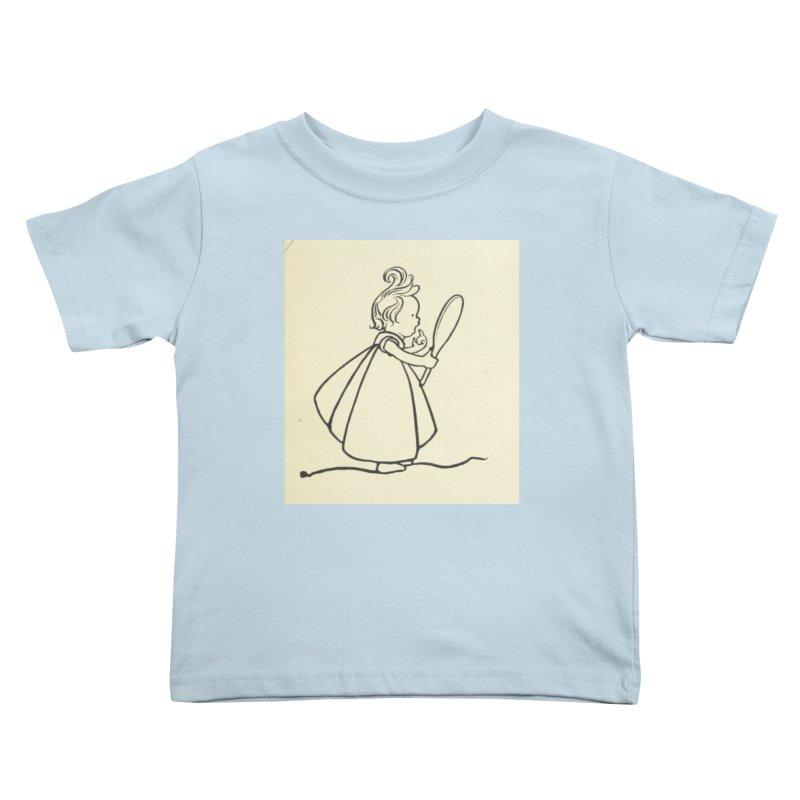 Mirror Kids Toddler T-Shirt by RNF's Artist Shop