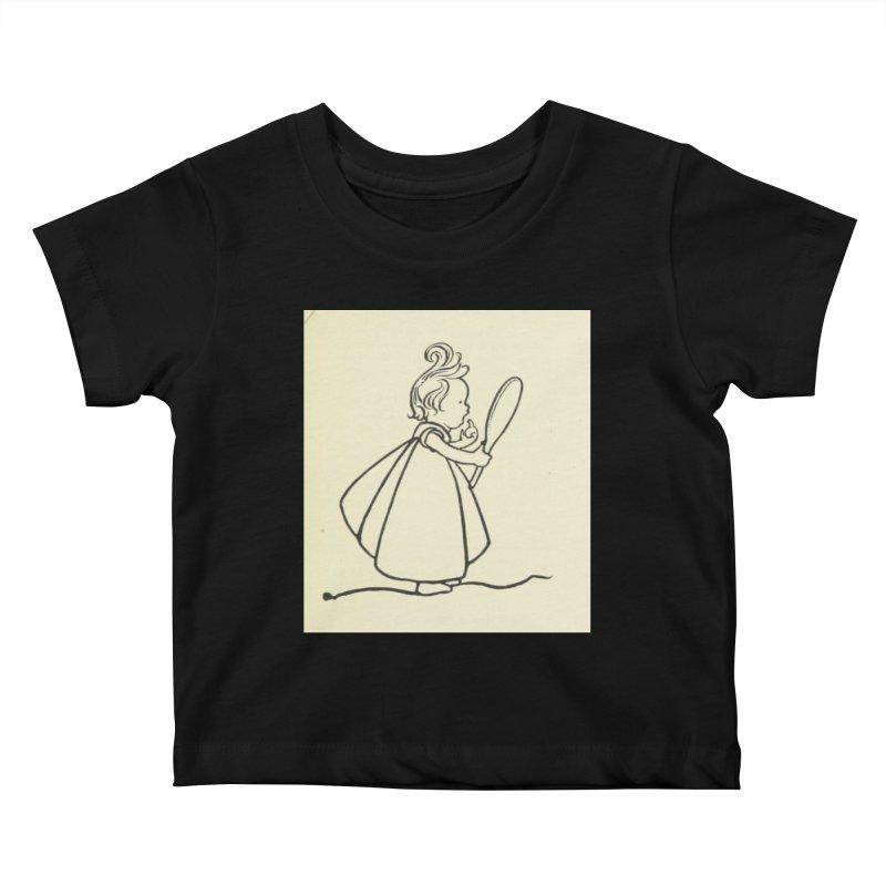 Mirror Kids Baby T-Shirt by RNF's Artist Shop