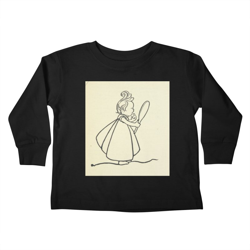 Mirror Kids Toddler Longsleeve T-Shirt by RNF's Artist Shop