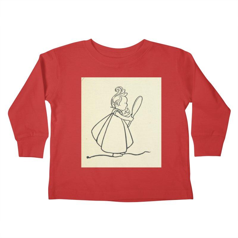 Mirror Kids Toddler Longsleeve T-Shirt by RNF's Artist Shop