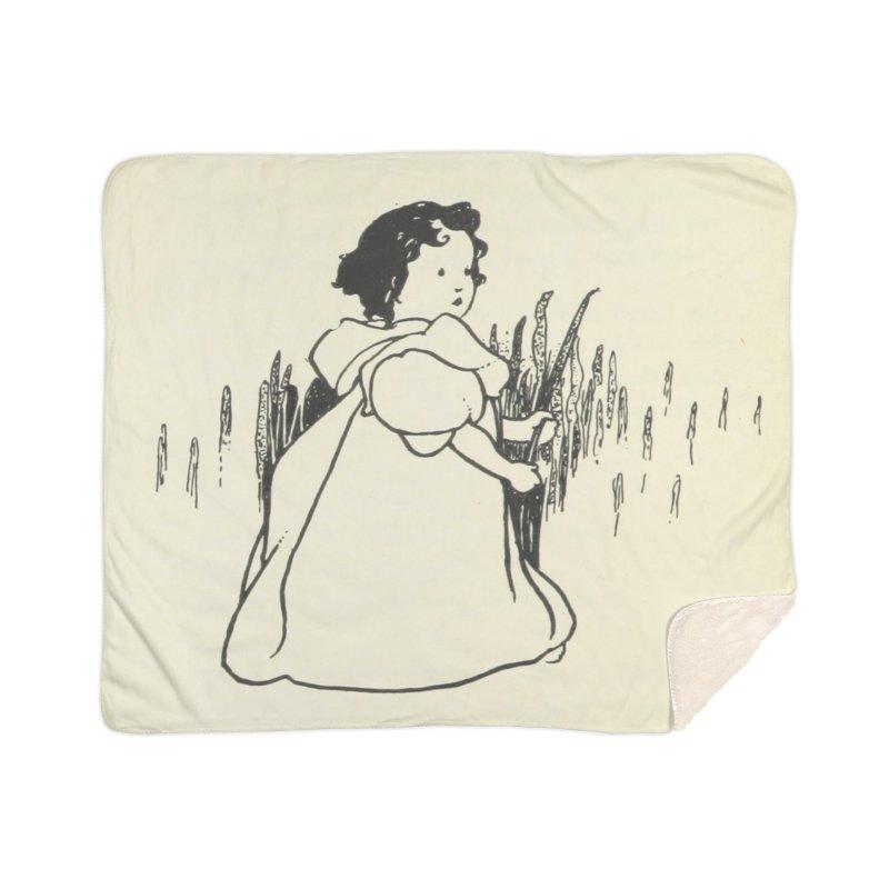 Lost Home Sherpa Blanket Blanket by RNF's Artist Shop