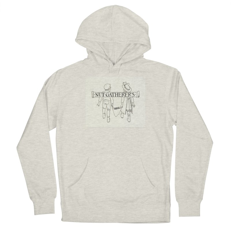 Nut Gatherers Men's French Terry Pullover Hoody by RNF's Artist Shop