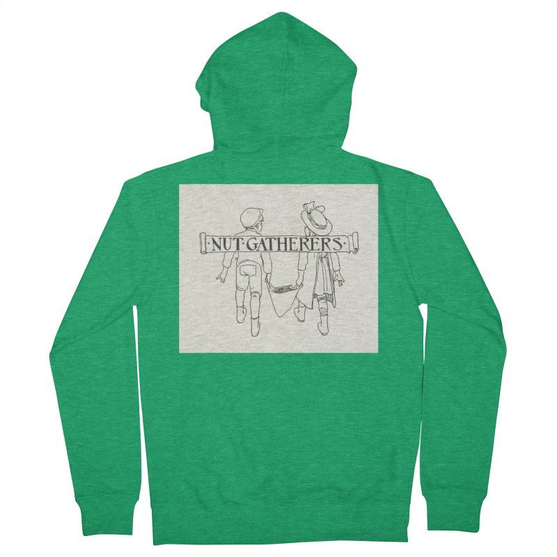 Nut Gatherers Men's Zip-Up Hoody by RNF's Artist Shop